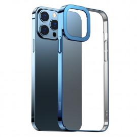 BASEUS Metallic iPhone 13 Pro Hoesje - Blauw