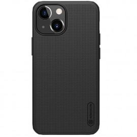 Nillkin Super Frosted Shield iPhone 13 Mini Hoesje - Zwart