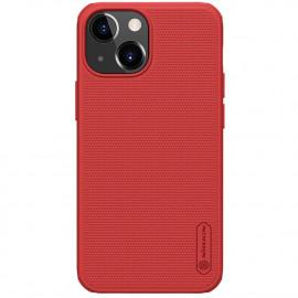 Nillkin Super Frosted Shield iPhone 13 Mini Hoesje - Rood