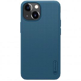 Nillkin Super Frosted Shield iPhone 13 Mini Hoesje - Blauw