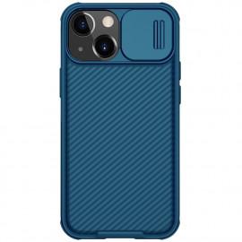 Nillkin CamShield Pro iPhone 13 Mini Hoesje - Blauw