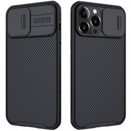 Nillkin CamShield Pro iPhone 13 Pro Max Hoesje - Zwart