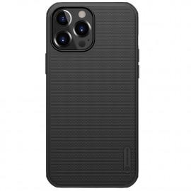 Nillkin Super Frosted Shield iPhone 13 Pro Hoesje - Zwart