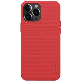 Nillkin Super Frosted Shield iPhone 13 Pro Hoesje - Rood