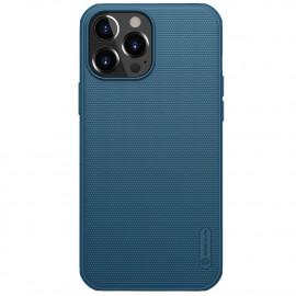Nillkin Super Frosted Shield iPhone 13 Pro Hoesje - Blauw