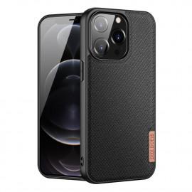 Dux Ducis FINO iPhone 13 Pro Hoesje - Zwart