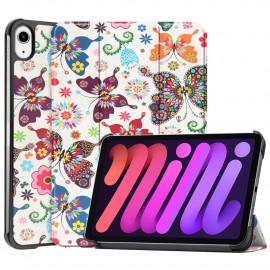 Tri-Fold Book Case iPad Mini 6 (2021) Hoesje - Vlinders