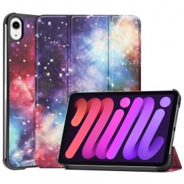 Tri-Fold Book Case iPad Mini 6 (2021) Hoesje - Galaxy