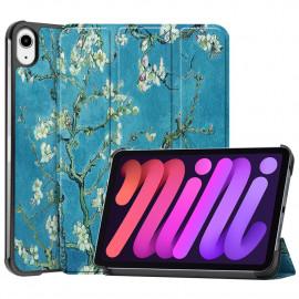 Tri-Fold Book Case iPad Mini 6 (2021) Hoesje - Bloesem