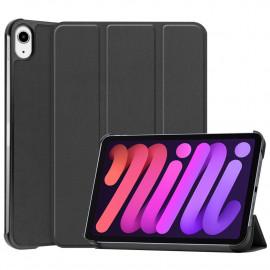 Tri-Fold Book Case iPad Mini 6 (2021) Hoesje - Zwart