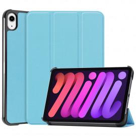 Tri-Fold Book Case iPad Mini 6 (2021) Hoesje - Lichtblauw