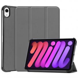 Tri-Fold Book Case iPad Mini 6 (2021) Hoesje - Grijs