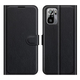 Book Case Xiaomi Redmi Note 10 4G / 10S Hoesje - Zwart