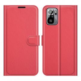 Book Case Xiaomi Redmi Note 10 4G / 10S Hoesje - Rood