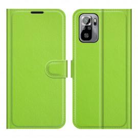 Book Case Xiaomi Redmi Note 10 4G / 10S Hoesje - Groen