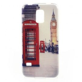 TPU Hoesje Samsung Galaxy S5 Mini - Red Phone Box