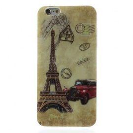 TPU Hoesje iPhone 6 Plus - Eiffeltoren
