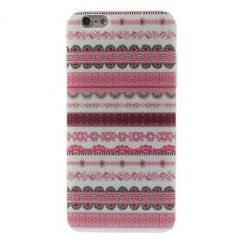 TPU Hoesje iPhone 6 Plus - Rose Pattern