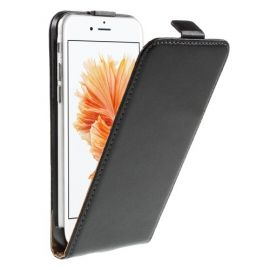 Flip Case Hoesje iPhone 6 / 6s - Zwart