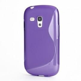 S-Curve Hoesje Samsung Galaxy S3 mini - Paars