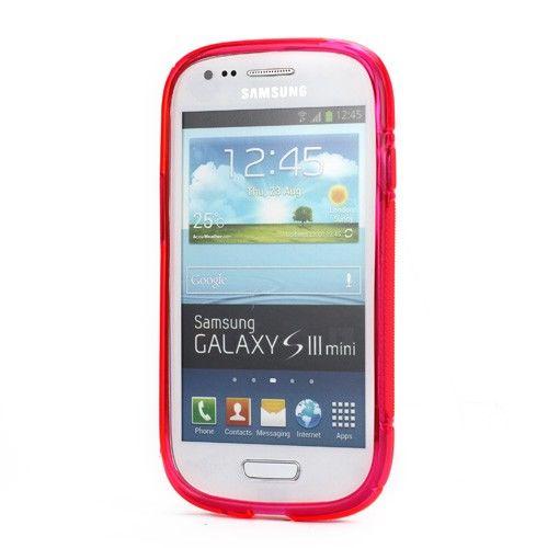 S curve hoesje samsung galaxy s3 mini roze gsm - Samsung s3 mini fundas ...