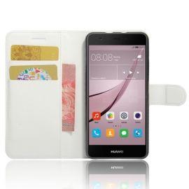 Book Case Hoesje Huawei Nova - Wit