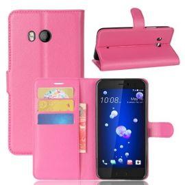 Book Case Hoesje HTC U11 - Roze