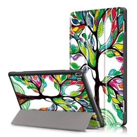 Smart Tri-Fold Book Case Lenovo Tab 4 10 - Colour Tree