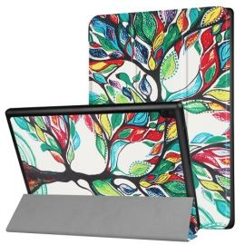 Tri-Fold Book Case Lenovo Tab 4 10 Plus - Colour Tree