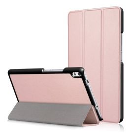 Smart Tri-Fold Book Case Lenovo Tab 4 8 Plus - Rose Gold