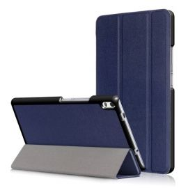 Smart Tri-Fold Book Case Lenovo Tab 4 8 Plus - Blauw