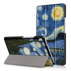 Tri-Fold Book Case Lenovo Tab 4 8 Plus - Sterrennacht