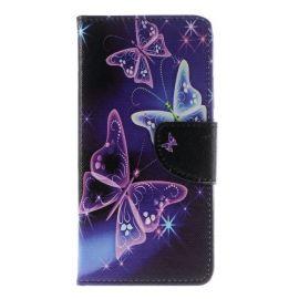 Book Case Hoesje Huawei Y7 - Vlinders