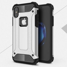 Armor Hybrid Case iPhone Xs / X - Zilver