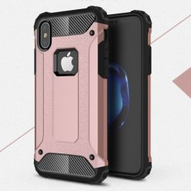 Armor Hybrid Case iPhone Xs / X - Rose Gold
