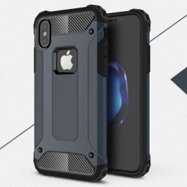 Armor Hybrid Case iPhone Xs / X - Blauw