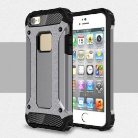 Armor Hybrid Case iPhone 5 / 5S /SE - Grijs