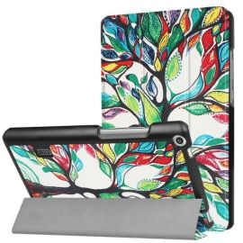 Tri-Fold Case Huawei MediaPad T3 7 - Colour Tree