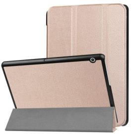 Tri-Fold Book Case Huawei MediaPad T3 10 - Rose Gold