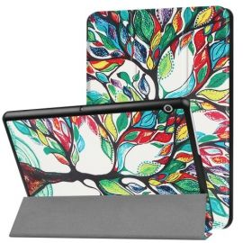 Tri-Fold Book Case Huawei MediaPad T3 10 - Colour Tree