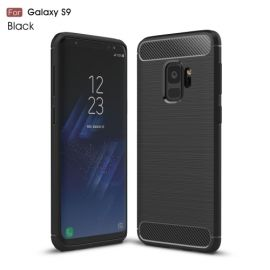 Armor Brushed TPU Case Samsung Galaxy S9 - Zwart