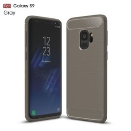 Armor Brushed TPU Case Samsung Galaxy S9 - Grijs