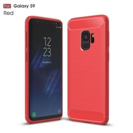 Armor Brushed TPU Case Samsung Galaxy S9 - Rood