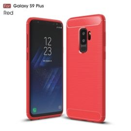Armor Brushed TPU Case Samsung Galaxy S9 Plus - Rood