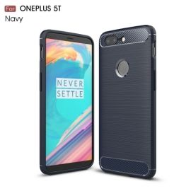 Armor Brushed TPU Case OnePlus 5T - Blauw