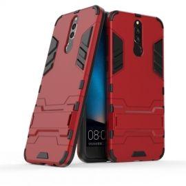 Armor Hybrid Kickstand Case Huawei Mate 10 Lite - Rood