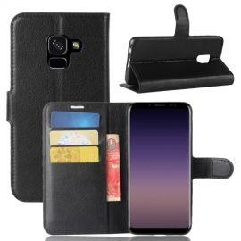 Book Case Hoesje Samsung Galaxy A8 (2018) - Zwart