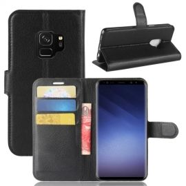 Book Case Hoesje Samsung Galaxy S9 - Zwart