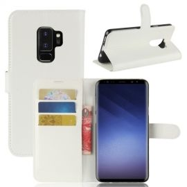 Book Case Hoesje Samsung Galaxy S9 Plus - Wit