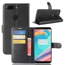 Book Case Hoesje OnePlus 5T - Zwart